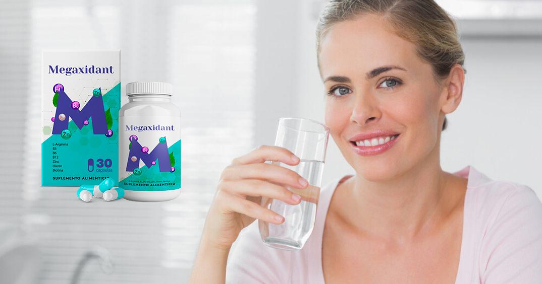 Megaxidant cápsulas, ingredientes, cómo tomarlo, como funciona, efectos secundarios